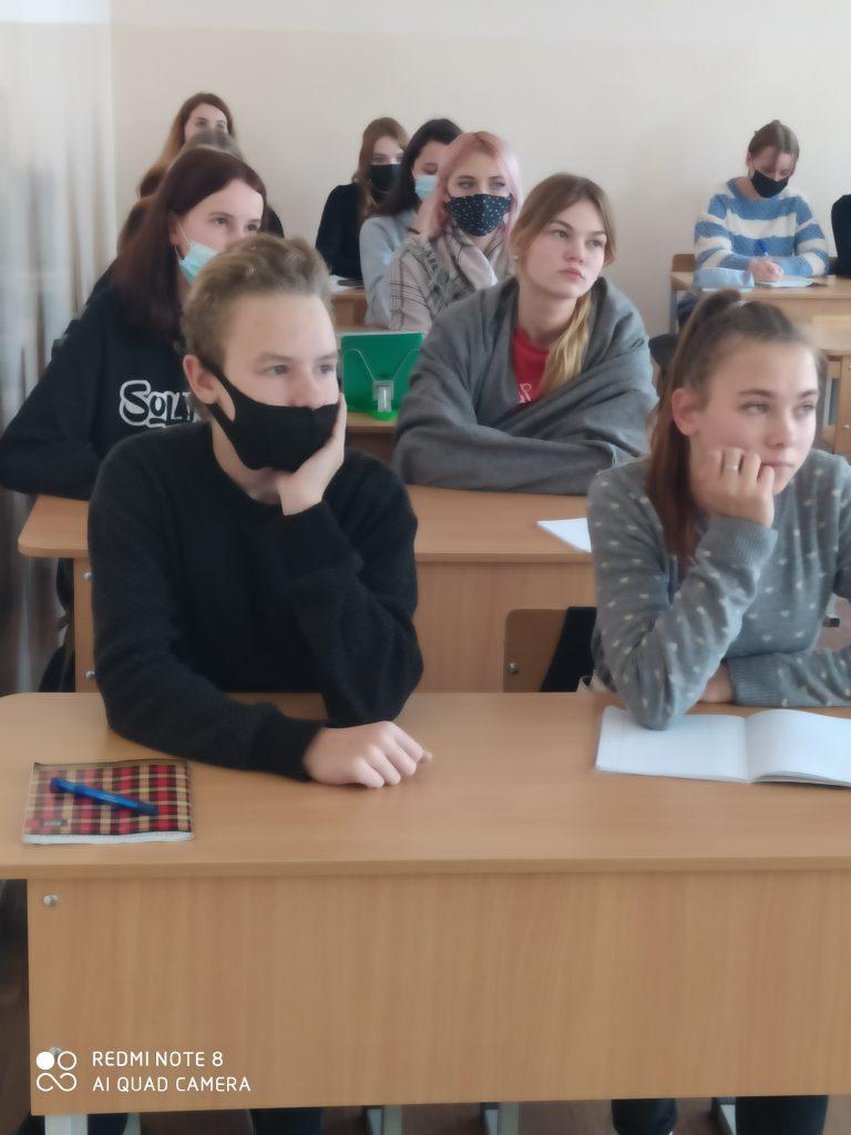 Встречи учащихся с инспектором ИДН